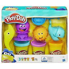 Hasbro B1378EU5 - Play Doh, Unterwasser Knetwelt, Meer Knete Set inkl. 3 Dosen