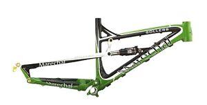 "Marechal Sollers AM/Enduro MTB Bicycle Bike Frame w/Rockshox shock 26"" Green"