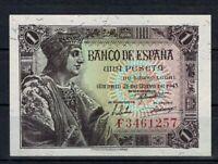 Billete de España 1 peseta 1943 Colon F3461257