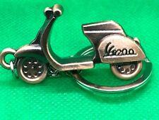 Schlüsselanhänger - Motorroller Bronze Anhänger aus Metall