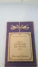 georges bwenanos, sous le soleil de satan extraits, classiques larousse