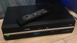 Toshiba DVR17KTB VHS DVD Recorder Copy VHS to DVD D-VR17 Combi, Remote
