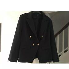 Ladies Size 20 Navy Blue Designer Inspired Blazer Jacket Ex JD Williams Washable