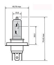 lampada hs1 12v 35/35w bianco RMS lampadine scooter