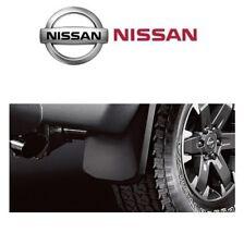 Oem Genuine Pair Set Of Rear Splash Mud Guards W Hardware For Nissan Frontier