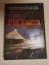 """The Pig Farm Killer DVD RARE OOP! Robert """"Willie"""" Pickton Serial Killer Doc."""