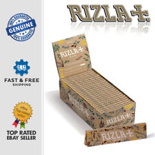 More details for rizla natura king size organic hemp slim natural rolling paper unbleached sheets