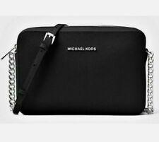 Michael Kors 35T8GTTC9L Women's Jet Crossbody Bag - Black