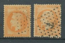 Lot de N°23 et 31 40c orange oblitré ANCRE B/TB Cote 38€. A1149