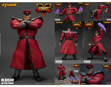 Storm Collectibles Street Fighter V M. Bison 1:12 Scale Action Figure USA Seller
