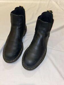 mens doc martens boots size 11 Black Chelsea boots