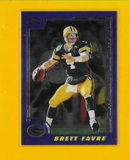 25979 BRETT FAVRE 2000 TOPPS CHROME GREEN BAY PACKERS PREVIEW CARD #CP5 🏈