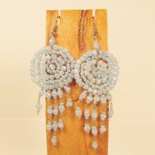 Wholesale Lot 6 PCS Handmade Beaded Dreamcatcher Earrings 6 LIGHT COLORS