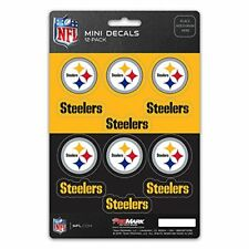 Pittsburgh Steelers Mini Decals Stickers 12 Pack FAST USA SHIPPER