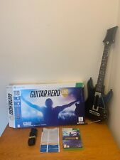 GUITAR HERO LIVE CONTROLLER + GAME - Boxed Microsoft Xbox 360 Bundle (No Dongle)