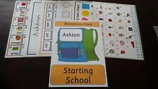 Starting School Learning Pack RECEPTION all you need to give child a head start