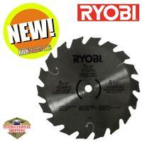 """Ryobi 6797329 5-1/2"""" 18 Tooth Carbide Tipped Blade 10mm Arbor for Ryobi Circ Saw"""