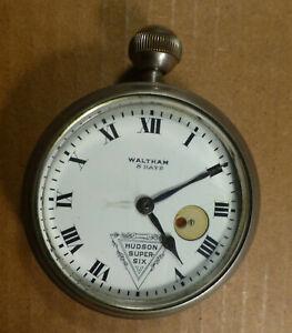 Antique Waltham HUDSON Car Clock in Heavy Case - BEST OFFER -