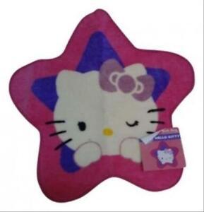 Hello Kitty Bath Rug Girls Sanrio 100% Acrylic Hot Pink 24 Inch x 24 Inch
