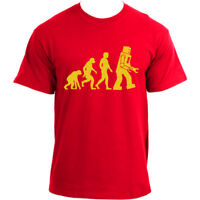 The Big Bang Theory Sheldon Robot Evolution Inspired T-Shirt
