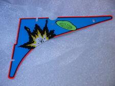 FLIPPER AFM Attack From Mars Top angolo superiore sinistro in plastica originale BALLY
