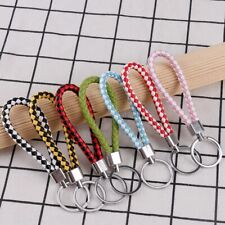 Multifunctional  Key Chains Bag Braided Pendant Key Ring Keychain Woven Rope 1PC