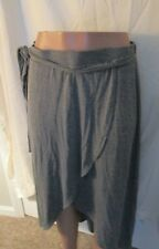 Target By  A New Day Women's Midi Wrap Yoga Skirt Gray sz Large super soft!