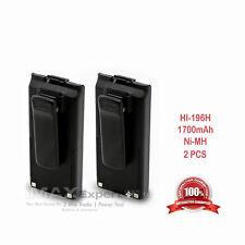 2x 1700mAh BP-195 BP-196 Battery ft ICOM IC-A4E IC-F3S IC-F4S IC-F4TR IC-T2A T2H
