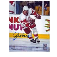 JOE KOCUR signed Detroit Red Wings 8x10 Photo - 70334