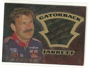 1997 WHEELS GATORBACK CARD OF DALE JARRETT GB 4