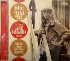 SHE DID IT! The Songs of JACKIE DeSHANNON - Vol#2 - 26 VA Tracks on ACE #1411
