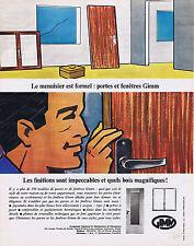 PUBLICITE ADVERTISING 064 1965 GIMM Portes et fenêtres