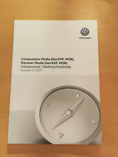 VW Composition/Discover Media Gen 2 GP MQB Bedienungsanleitung (Ausg 07.19)*NEU*