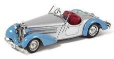 1:18 CMC 1935 Audi Roadster 225 Blue & Silver M-075B