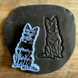 Border Collie Dog Cookie Cutter, biscuit cutter, cute animal, pets