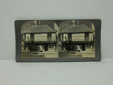 Keystone Stereoview #T307 The Old Curiosity Shop, London, England 3061