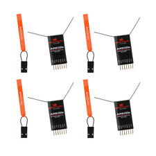 4pc 2.4G DSM2 Receiver Spektrum AR6100E 6 Ch for DX6I DX18 DX8 DX9 DEVO10 RC