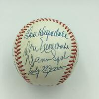 Tom Seaver Bob Gibson Drysdale Cy Young Winners Signed Baseball 13 Sigs PSA DNA