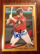 Patrick Kivlehan Auto Autograph Signed #/50 2014 Topps Pro Debut Gold Mariners