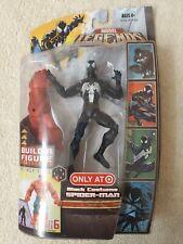 MARVEL LEGENDS TARGET EXCLUSIVE BLACK COSTUME SPIDER-MAN NEVER OPENED