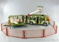 Jurassic Park Lost World Mobile Command Center Trailers Kenner 100% COMPLETE