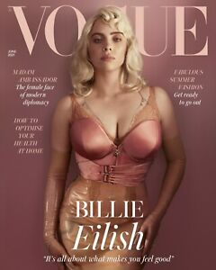 Vogue UK June 2021~Billie Eilish on cover . Also Emma Thompson And Lila Moss.New
