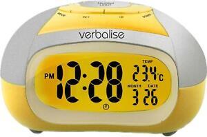 Verbalise Talking Alarm Clock with Temperature Announcement VTC-02