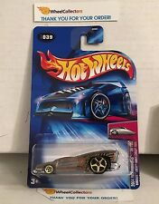 Hardnoze Chevy Monte Carlo 1974 #39 * ZAMAC * 2004 Hot Wheels * D27