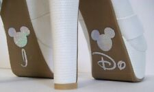 Disney Wedding Shoe Vinyl 'I DO' , All Colours Available