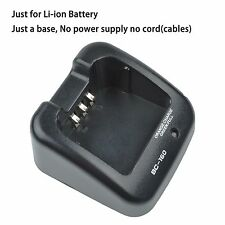 BC-160 Charger-Base ONLY for ICOM IC-F3011 IC-F4011 IC-F33GT IC-F33GS IC-F3360DT