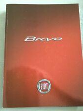 FIAT BRAVO BROCHURE AUTO E ACCESSORI OPUSCOLO-MARZO 2007