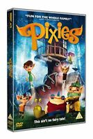 Pixies DVD Christopher Plummer Bill Paxton Kids Family Animated Movie Gift Idea