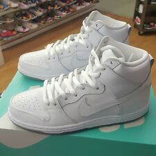 NIKE DUNK HIGH PRO SB 305050 113 WHITE/LIGHT BASE GREY MEN US SZ 8