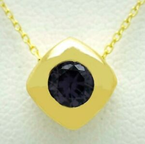 ALEXANDRITE 0.95 Cts PENDANT 10k Gold * NEW WITH TAG * Made in USA